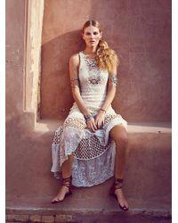 Free People Sand Dollar Knit Maxi - Lyst