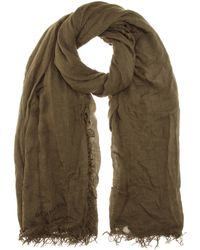 Burberry Brit - Festival Wool-blend Scarf - Lyst