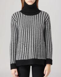 Reiss Sweater - Amie Textured Turtleneck - Lyst
