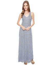 Splendid Glen Valley Stripe Maxi Dress - Lyst