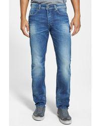 Diesel 'Buster' Slim Straight Leg Jeans - Lyst