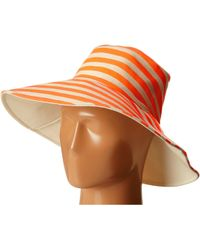 Hat Attack Canvas Reversible Sunhat - Lyst