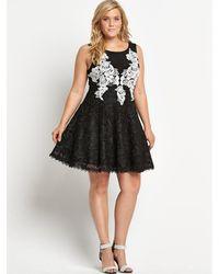 Forever Unique Black Olive Dress  - Lyst