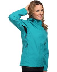 The North Face Green Dryzzle Jacket - Lyst