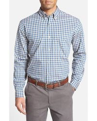Cutter & Buck 'Highpoint' Classic Fit Gingham Sport Shirt - Lyst