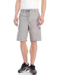 Diesel Gerty Cargo Shorts gray - Lyst
