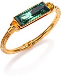 House of Lavande | Kemala Crystal Bangle Bracelet | Lyst