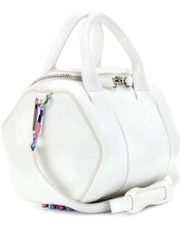 Alexander Wang Rockie Studded Leather Tote - Lyst