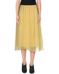 Aimo Richly - Knee Length Skirt - Lyst