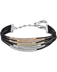 Swarovski Vi Crystal And Tri-Tone Bracelet - Lyst