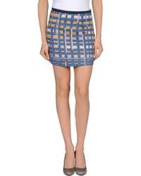 Alysi Mini Skirt - Lyst