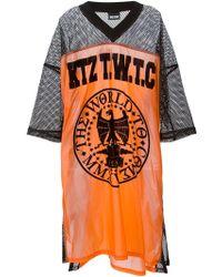 KTZ Eagle Print Baseball T-Shirt - Lyst