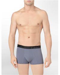 Calvin Klein Bold Cotton Trunk - Lyst