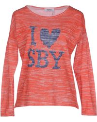 Sonia by Sonia Rykiel T-Shirt red - Lyst