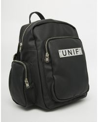 UNIF | Raze Backpack With Multi Pocket Detail | Lyst