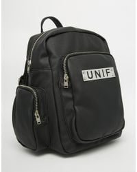 UNIF - Raze Backpack With Multi Pocket Detail - Lyst