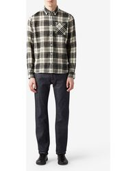 Norse Projects Anton Loose Weave Gauze Shirt - Lyst
