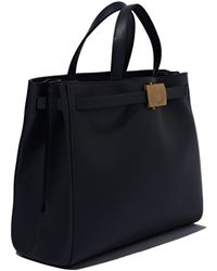 Calvin Klein Collection Large Leather Tote - Lyst
