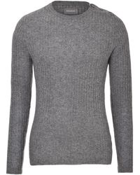 Zadig & Voltaire Ribbed Cashmere Pullover - Lyst