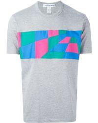 Comme des Garçons Patchwork Panel T-Shirt - Lyst