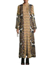 Anna Sui Dresses On Sale Anna Sui Long Sleeve Printed