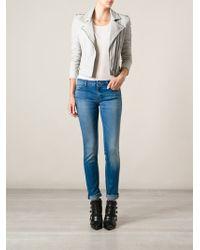Iro Blue Skinny Jeans - Lyst
