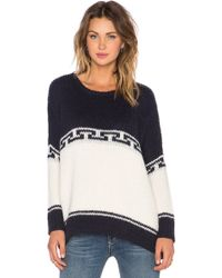 The Great The Lodge Knit Sweater - Lyst