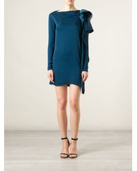 Vionnet Ruffle Detail Dress - Lyst