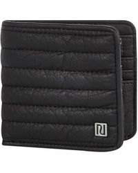 River Island Black Quilted Wallet - Lyst