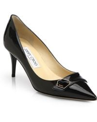 Jimmy Choo Hyder Patent Leather Pumps - Lyst