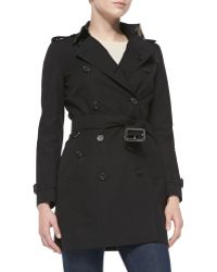 Burberry London Double-Breasted Trench Coat - Lyst