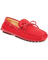 Cole Haan Grant Canoe Camp Moccasins - Lyst