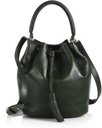 Anya Hindmarch Leather Bucket Bag - Lyst