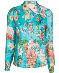 Clements Ribeiro - Foxglove Floral Shirt - Lyst