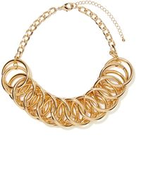 Nasty Gal Let It Chain Collar Necklace - Lyst
