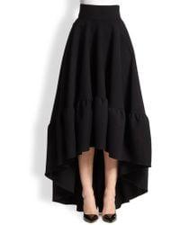 Antonio Berardi Full Hi-Lo Skirt - Lyst