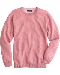 J.Crew Sparkle Crewneck Sweater - Lyst