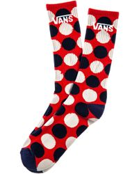 Vans The Big Dots Crew Socks - Lyst