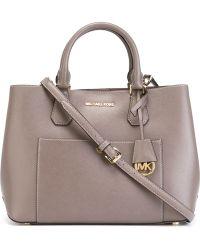 434094d4e00c ... Small Bucket Bag in Blue Lys MICHAEL Michael Kors Greenwich Crossbody  Bag Lyst ...