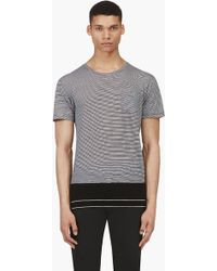 Surface To Air Black Striped Dustin T_shirt - Lyst