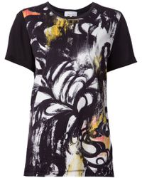 3.1 Phillip Lim Fern Print T-Shirt - Lyst