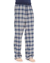 Ugg Spencer Plaid Drawstring Pants - Lyst
