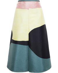 Marni Abstract Printed Skirt - Lyst