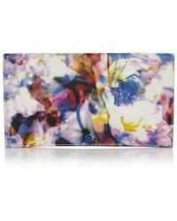 Karen Millen Printed Clutch multicolor - Lyst