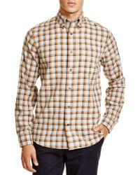 Jack Spade - Linfield Herringbone Check Regular Fit Button Down Shirt - Lyst