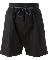 Forte Forte Belted Shorts - Lyst