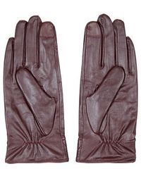 TOPSHOP - Leather Gloves - Lyst