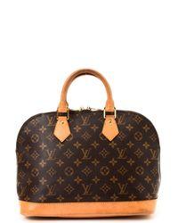 Louis Vuitton Alma Handbag - Lyst