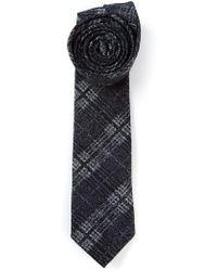 Mr Start Checked Tie - Lyst