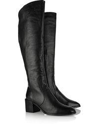 Pour La Victoire - Felicia Leather Knee Boots - Lyst